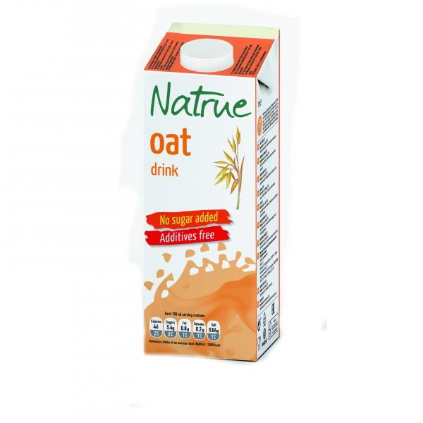Natrue ovesný nápoj bez přidaného cukru 1000 ml Liquats Vegetals