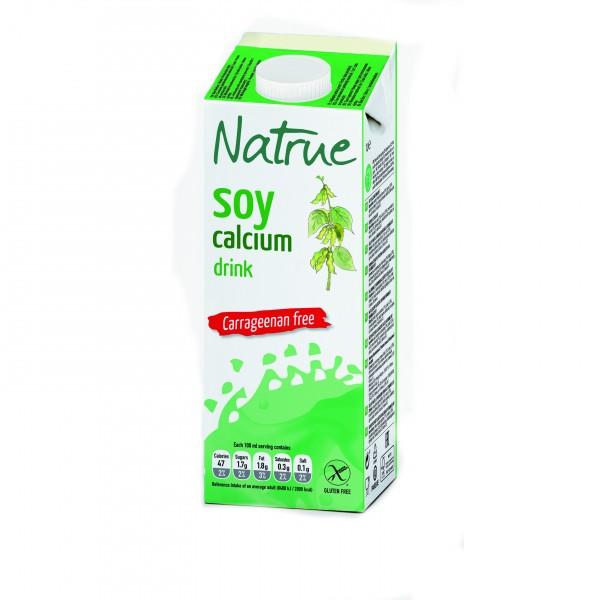 Natrue sójový nápoj s vápníkem a bez lepku 1000 ml Liquats Vegetals