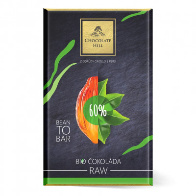 Chocolate Hill Bean To Bar 60% RAW čokoláda BIO 60 g