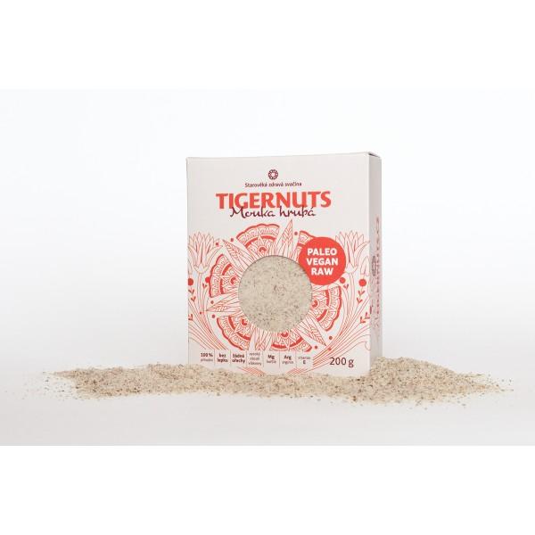 Tigernuts mouka hrubá 200 g TIGERNUTS