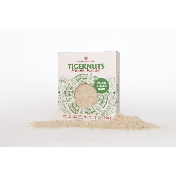 Tigernuts mouka hladká 200 g TIGERNUTS