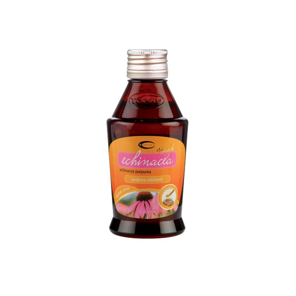 TOPVET Echinacea sirup (Třapatka nachová) 320g Topvet 144