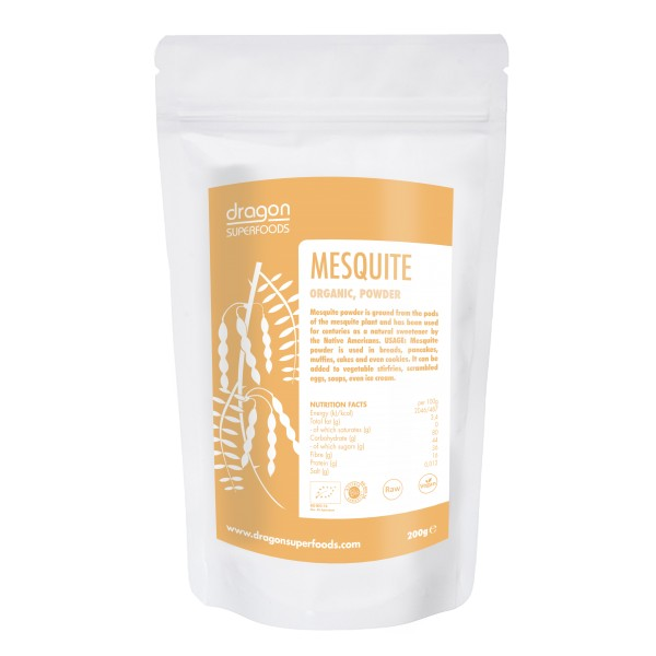 Dragon Superfoods Mesquite prášek 200 g Dragon Superfoods