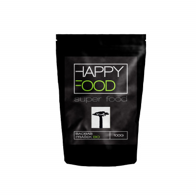 HAPPYFOOD Baobab prášek BIO RAW 100 g