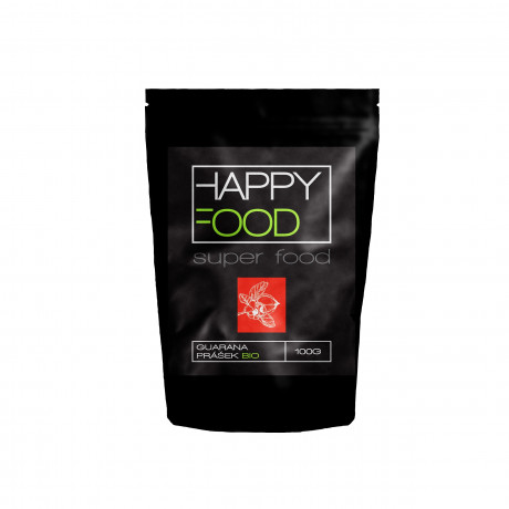 HAPPYFOOD Guarana prášek BIO RAW 100 g