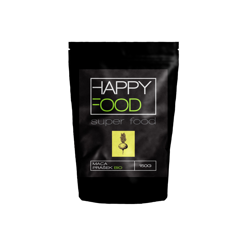 HAPPYFOOD Maca prášek BIO RAW 150 g