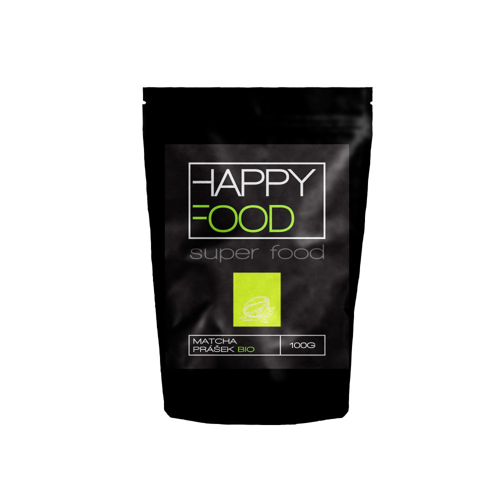 HAPPYFOOD Matcha prášek BIO RAW 100 g