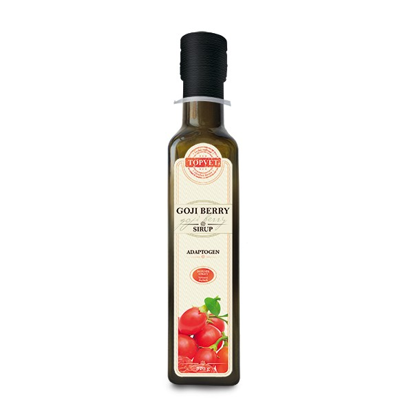 TOPVET Goji berry sirup - farmářský 320g Topvet 1075