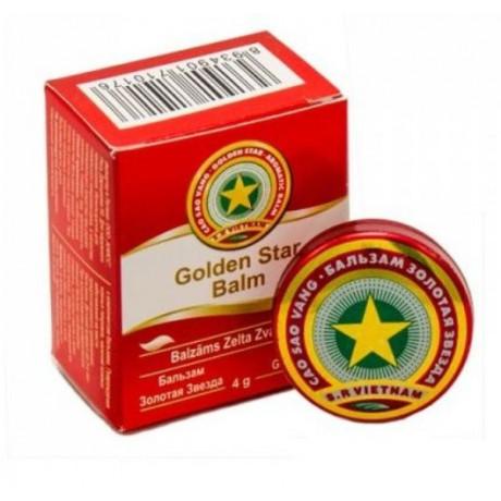 Balzám Zlatá hvězda (Tygří mast) 4g