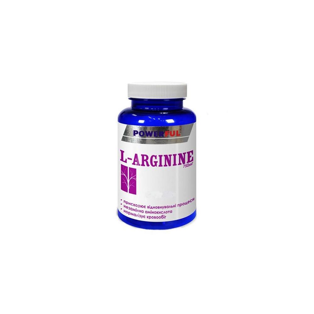 L-arginin POWERFUL 100 kapslí