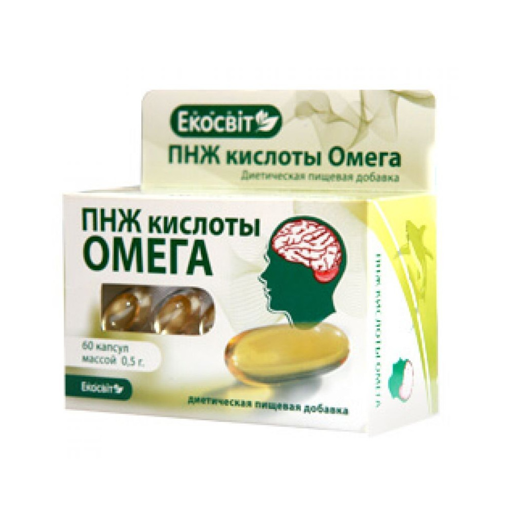 PNMK Omega Ekosvit 60 kapslí