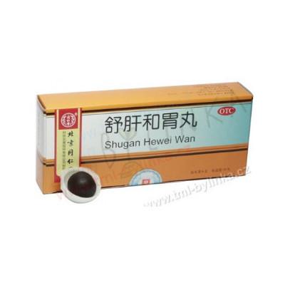 """Pilulky """"Jaterní rovnováhy"""" (Shugan Hewei Wan) 10tbl"""