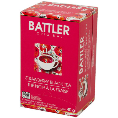 Battlers Strawberry Black Tea (20x2g)