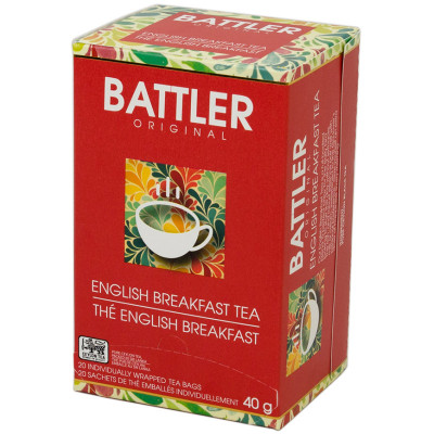 Battlers English Breakfast (20x2g)