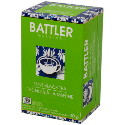 Battlers Mint Black Tea (20x2g)