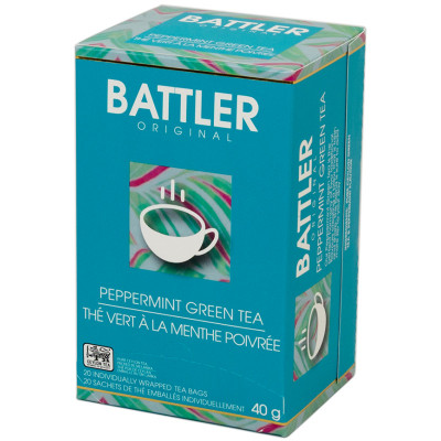 Battlers Pepermint Green Tea (20x2g)