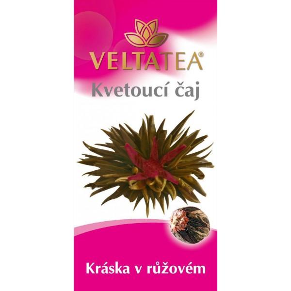 Velta Tea - kvetoucí čaj Kráska v růžovém 6 g