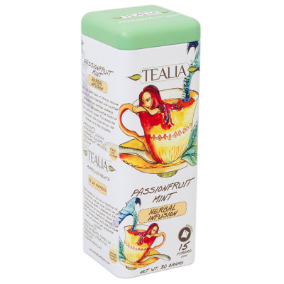 TeaLia Passion Fruit Mint 15x2g