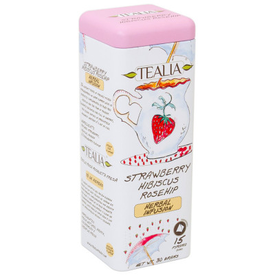 TeaLia Strawberry Hibiscus and Rosehip 15x2g