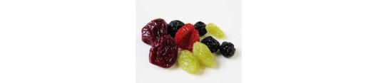 Sušené plody, semena a houby