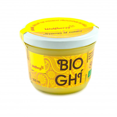 Ghí BIO 200 ml Wolfberry