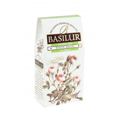 Basilur Tea zelený čaj - Green White Magic 100 g