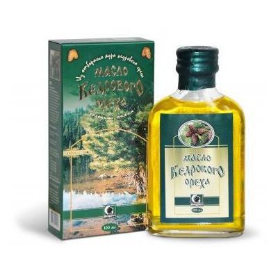 Cedrový olej - Altajský 100% 100 ml