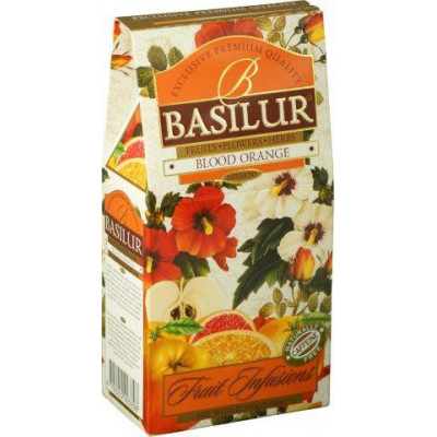 Basilur Blood Orange papír 100 g