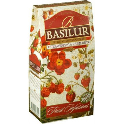 Basilur Strawberry Raspberry papír 100 g