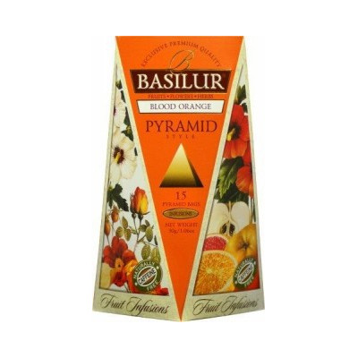 Basilur Blood Orange 15 x 2 g