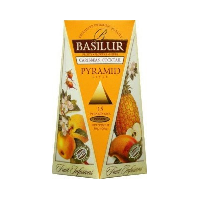 Basilur Caribbean Cocktail 15 x 2 g
