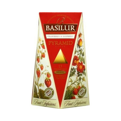 Basilur Strawberry Raspberry 15 x 2 g