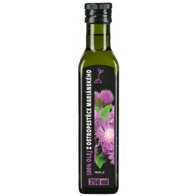 RICH Ostropestřecový olej 100% 250ml