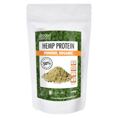 Dragon Superfoods Konopný protein 46% protein 200 g