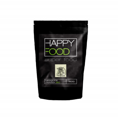 HAPPYFOOD Mesquite prášek BIO RAW 150 g
