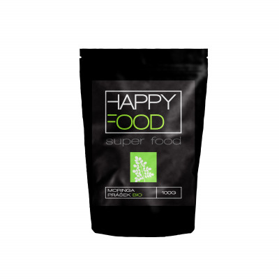 HAPPYFOOD Moringa prášek BIO RAW 100 g