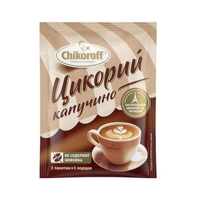 """Chikoroff: Rozpustná cikorka """"Čokoládová"""" (s fruktózou)-200g"""