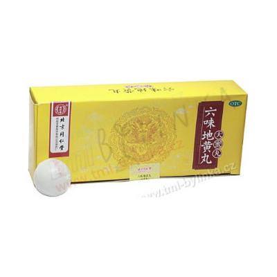 """Pilulky """"Šest bylin"""" (Liuwei Dihuang Wan) 10tbl"""