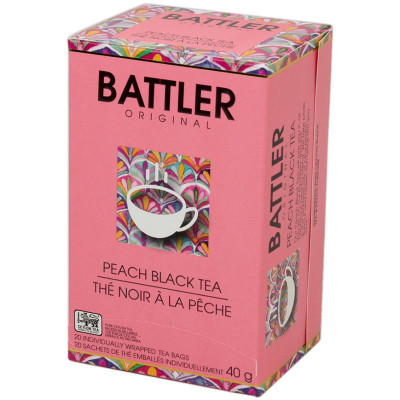 Battlers Peach Black Tea (20x2g)