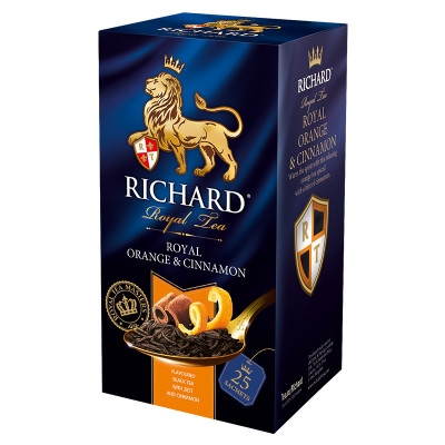 Richard Royal Orange & Cinnamon 50g