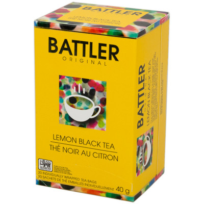Battlers Lemon Black Tea (20x2g)
