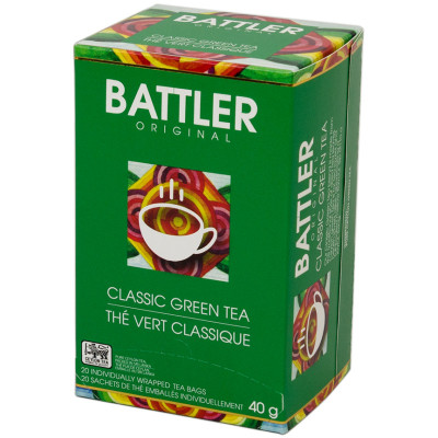 Battlers Classic Green Tea (20x2g)