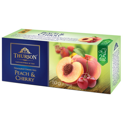 Thurson Peach&Cherry Blossom 25x2g