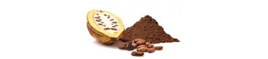 kakao, karob, čokoláda